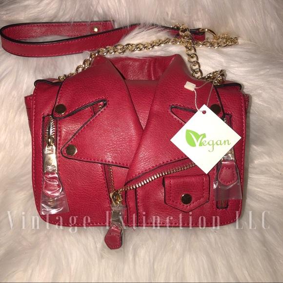 a3d64251c3ef Bags | Retail New Motorcycle Jacket Shoulder Bag Vegan | Poshmark